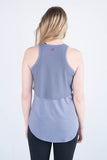Daniela Relaxed Fit Double Layer Tank