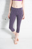 Women's Tonic space dye crop activewear