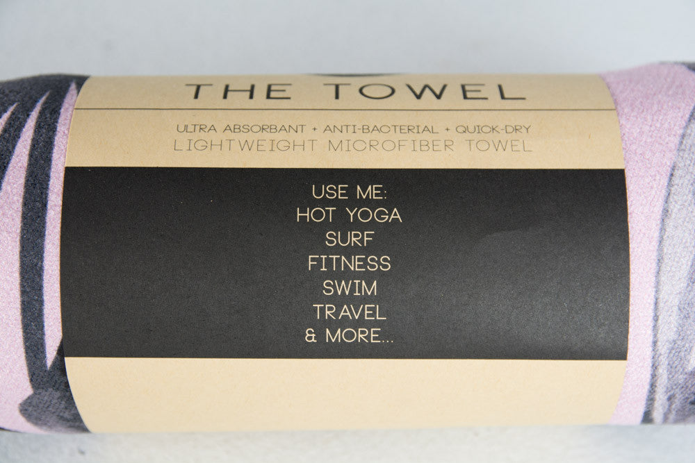 Lush Yoga Towel