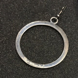 Circle of Faith Earrings, Steel Magnolia Jewelry