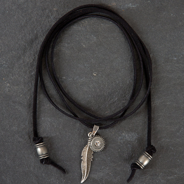 Leather Choker - Black w