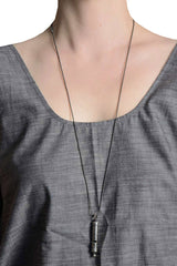 Falling Whistles Necklace- 5 Boys Gunmetal