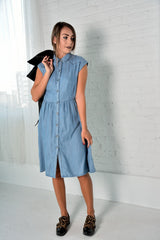 Wandi Shirt Dress