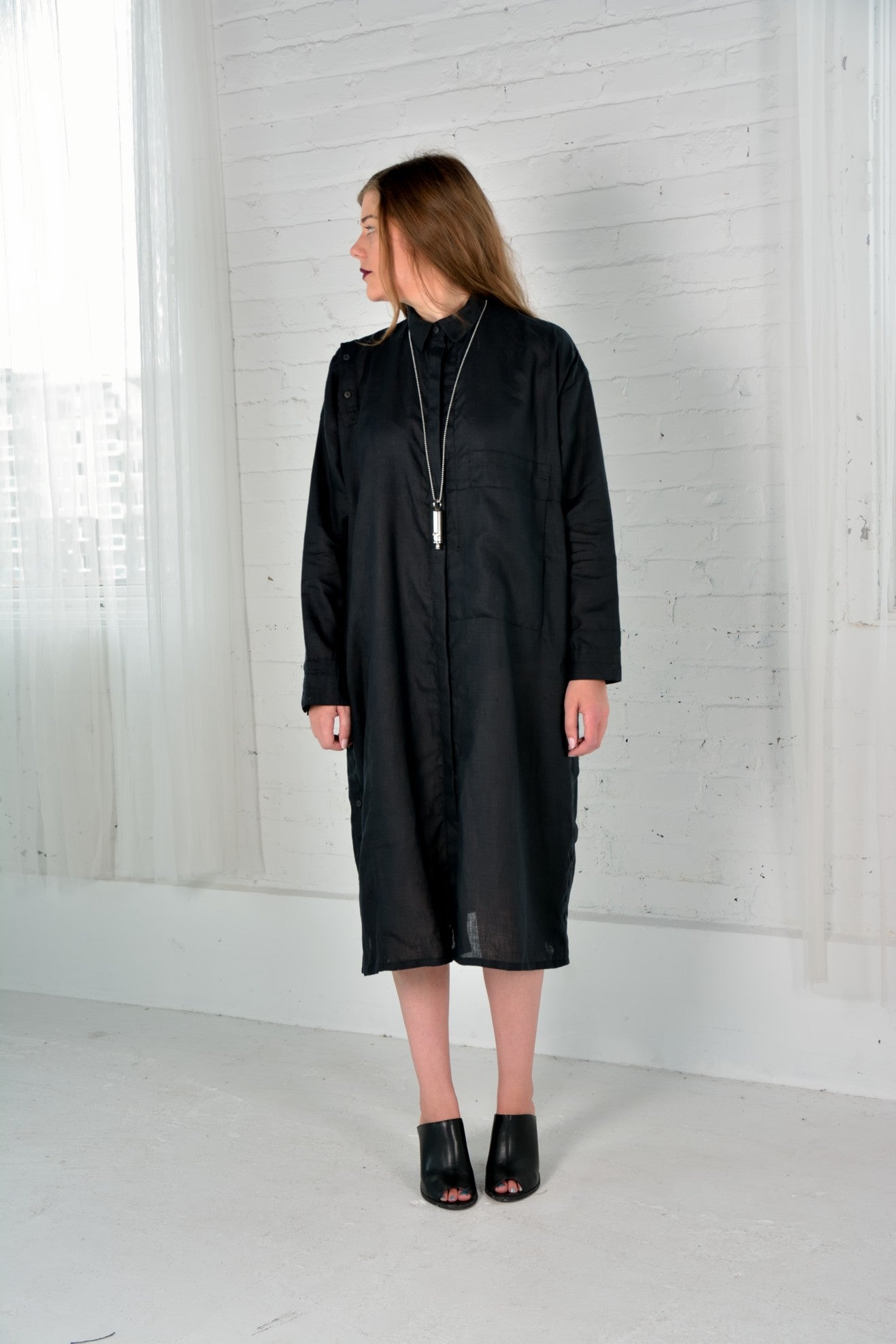 Barbara I Gongini -Shirt Dress