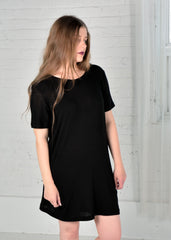 Organic cotton/Bamboo black Tunic