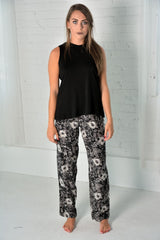 Organic cotton/Bamboo black Tank