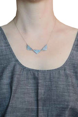 Trio Triangle Necklace - Article 22