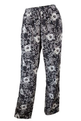 Silk Floral Pants -Carrie Parry