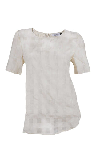 Silk Short Sleeve T-Shirt
