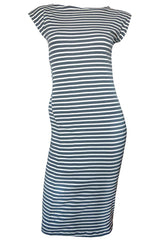 Twist Dress Stripe