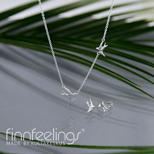 Finnfeelings Swift Silver Earrings