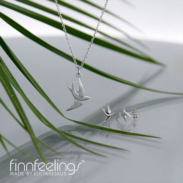 FinnFeelings Swift Silver Necklace