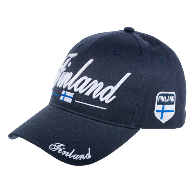 Finland 3D Embroidered Hat