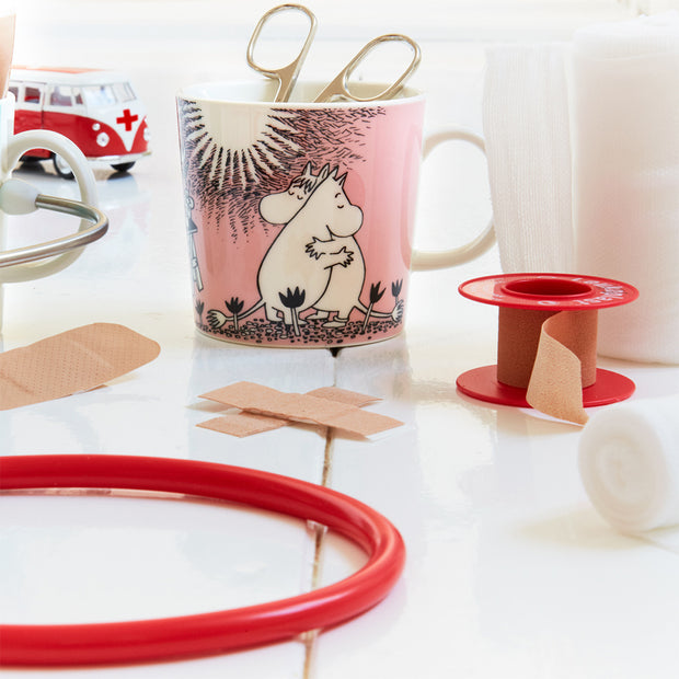 Arabia Moomin Mug - Love (4018465144910)