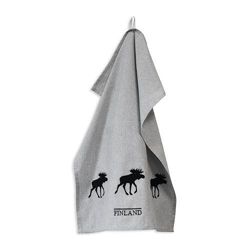 Finland Moose Kitchen Towel - Eco Friendly