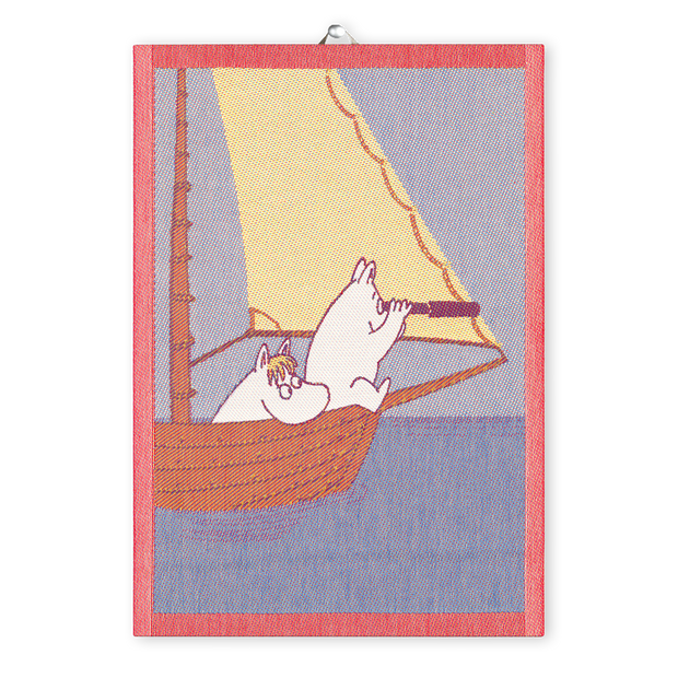 Ekelund Moomin Sailing Tea Towel