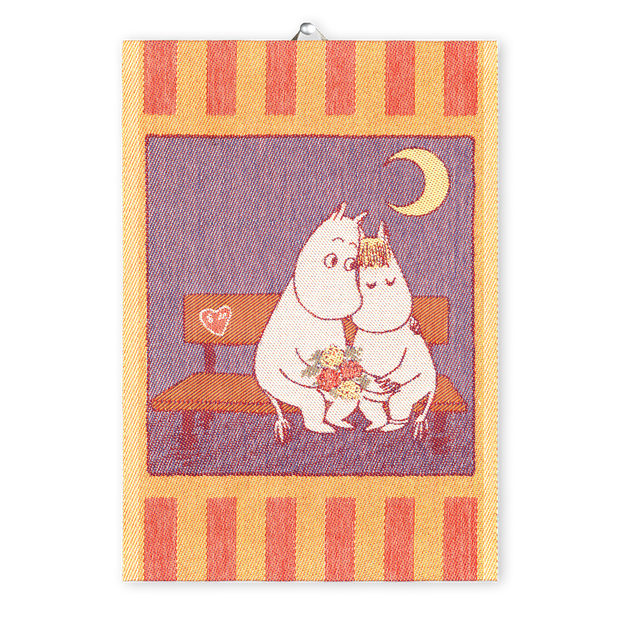 Ekelund Moomin Sweethearts Tea Towel