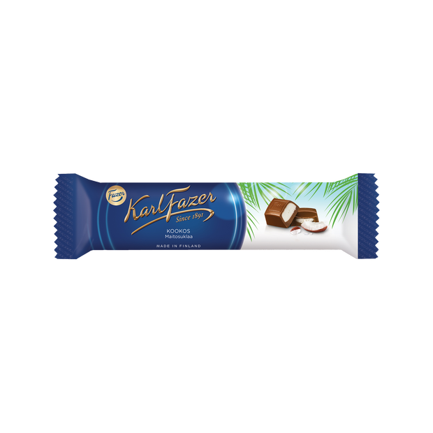 Fazer Coconut Milk Chocolate Bar (38g)