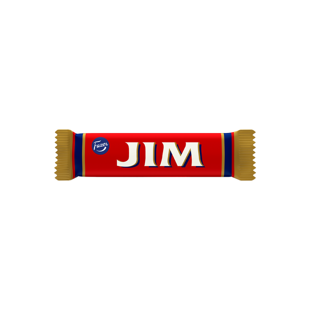 Fazer Jim Filled Dark Chocolate Bar (14g)