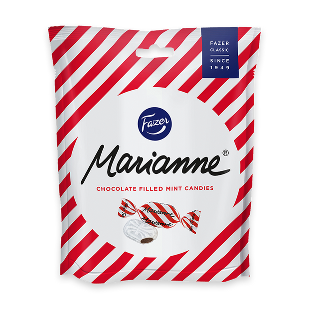 Fazer Marianne Chocolate Filled Mint Candies (220g)