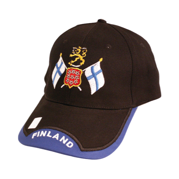 Crossed Finnish Flags Hat