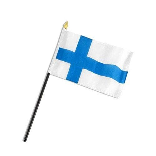 Finland Flag Mini Nylon Flag Touch of Finland (156454289414)