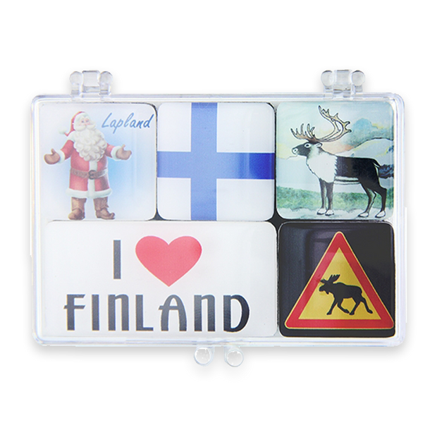 Finland Mini Magnet Set of 5