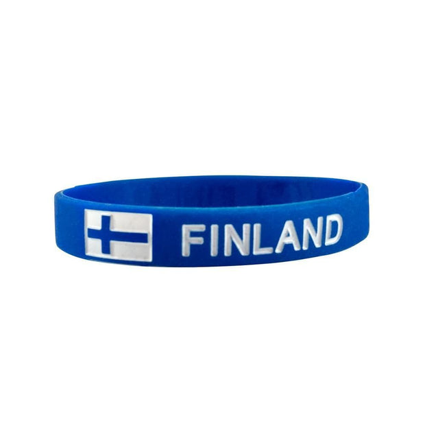Finland Silicone Wristband Finnish Souvenirs Touch of Finland (1406826053710)