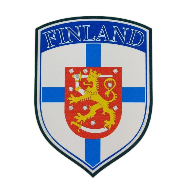 Finland's Coat of Arms Bumper Sticker Finnish Sticker Touch of Finland (1406817665102)
