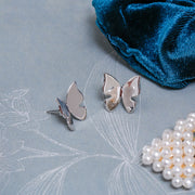 Finnfeelings Butterfly Silver Earrings