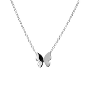 FinnFeelings Butterfly Silver Necklace