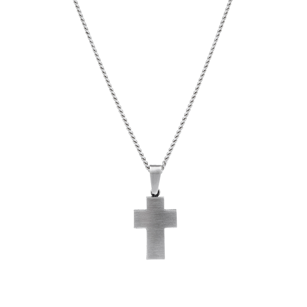 Finnfeelings Cross Silver Necklace