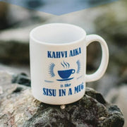 Finnish Coffee Mug - Kahvi Aika is like SISU in a Mug Fun Finnish Mugs Touch of Finland (1415332888654)
