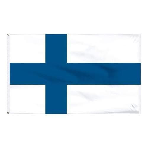 Finnish Flag 3' x 5' Outdoor Flag Touch of Finland (395840507)