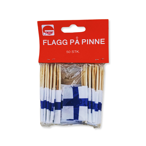 Finland Flag Toothpicks (50 count)