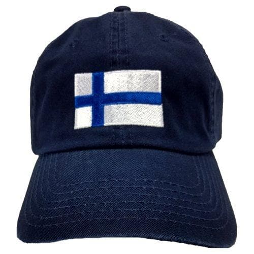 Finnish Hat - Finland Flag, Navy