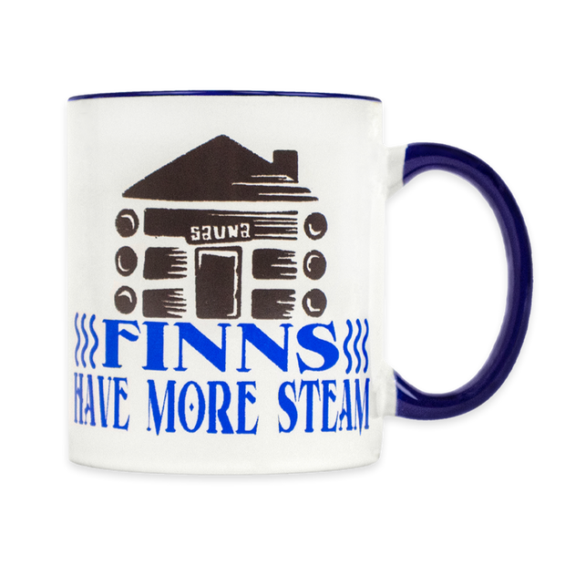 Finns Have More Steam Coffee Cup