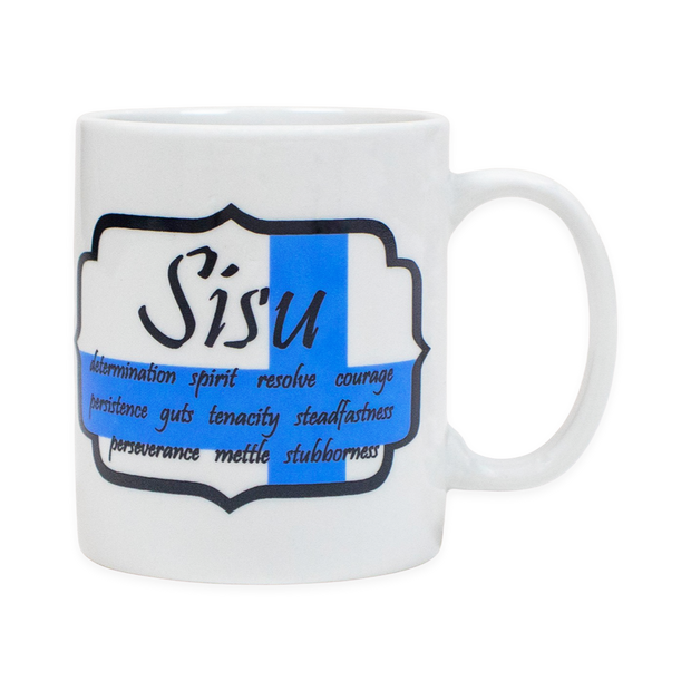 Finnish Coffee Mug - Sisu Shield