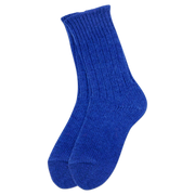 Helsinki Woolen Socks, Blueberry