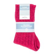 Helsinki Woolen Socks, Raspberry Red (2354588811342)