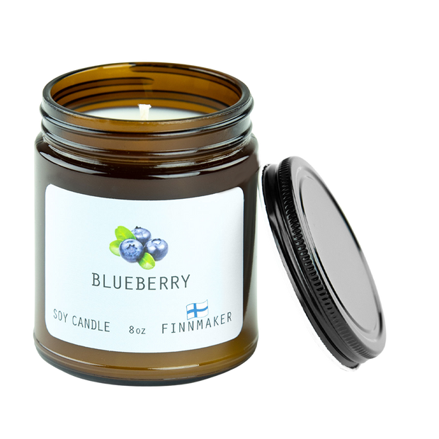 Finnmaker Blueberry Candle
