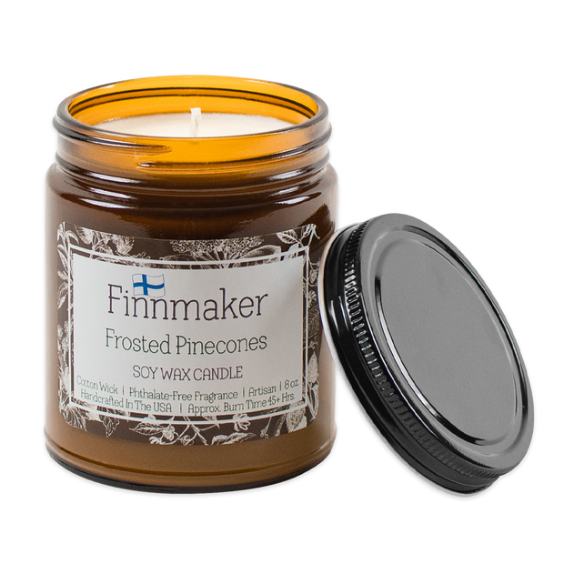 Finnmaker Frosted Pinecones Candle