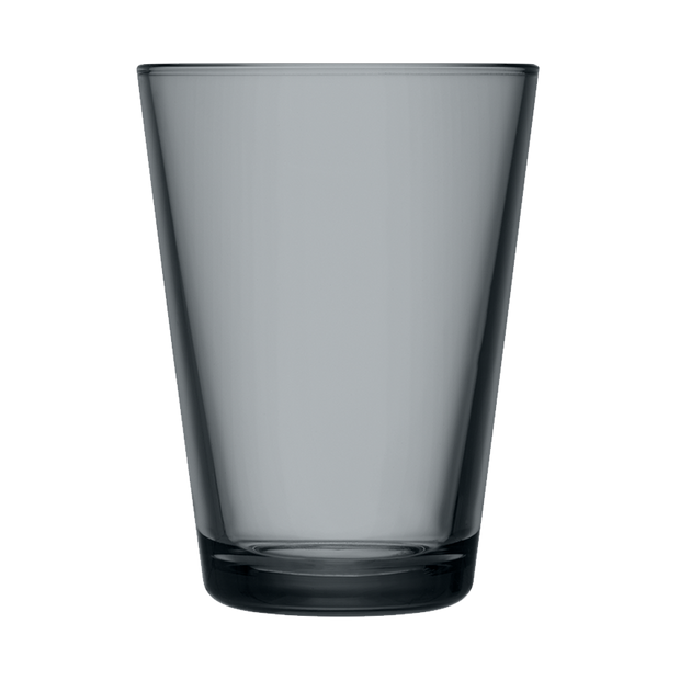 iittala Kartio Dark Grey Large Glass