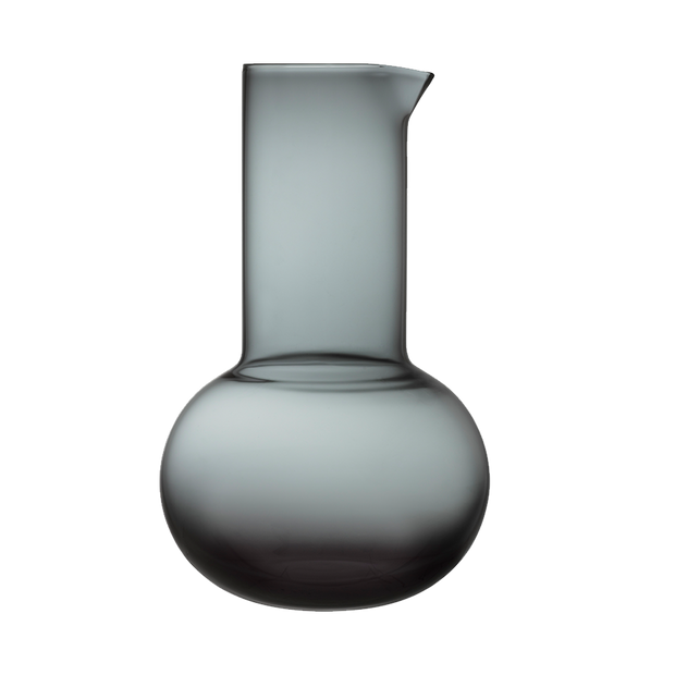 iittala Kartio Dark Grey Pitcher
