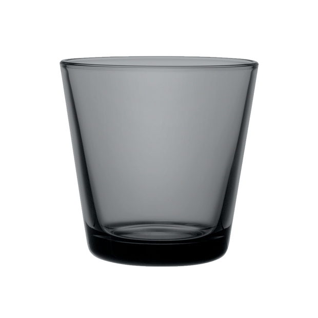 iittala Kartio Dark Grey Small Glass