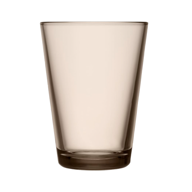 iittala Kartio Linen Large Glass