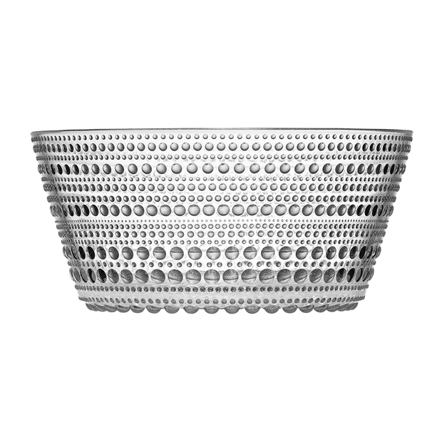 iittala Kastehelmi Dewdrop Clear Small Serving Bowl (140011929606)