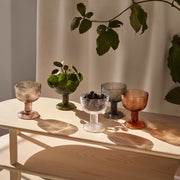 iittala Miranda Clear Footed Bowl