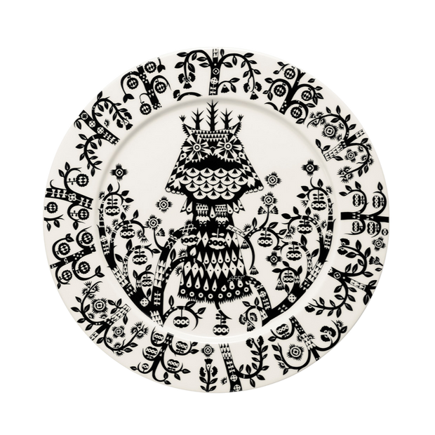 iittala Taika Black Dinner Plate