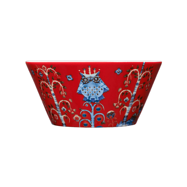 iittala Taika Red 20 oz Bowl (8917314758)